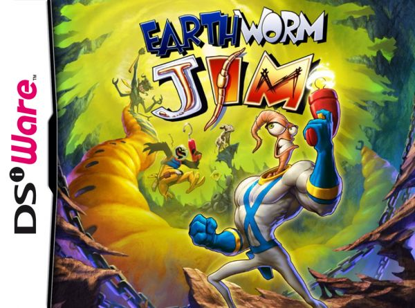 Earthworm Jim Cover Artwork