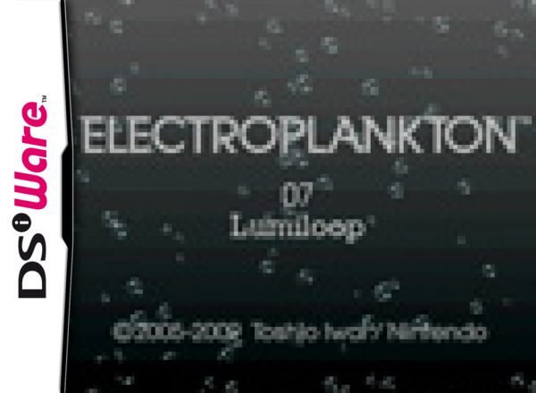 Electroplankton Lumiloop Cover Artwork
