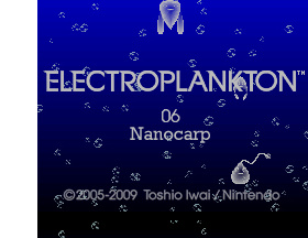 Electroplankton Nanocarp Cover Artwork