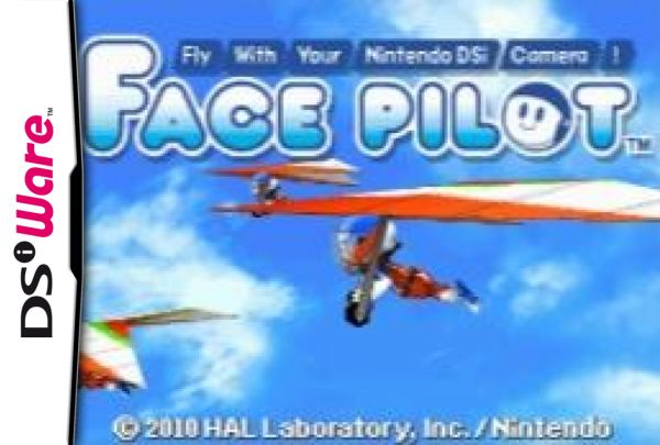 Face Pilot: Fly With Your Nintendo DSi Camera! Cover Artwork