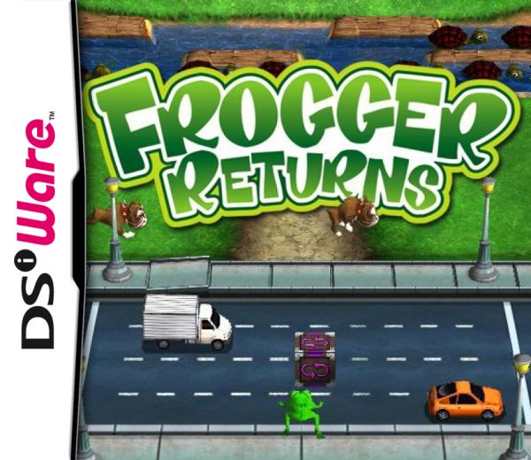 Frogger Returns Cover Artwork