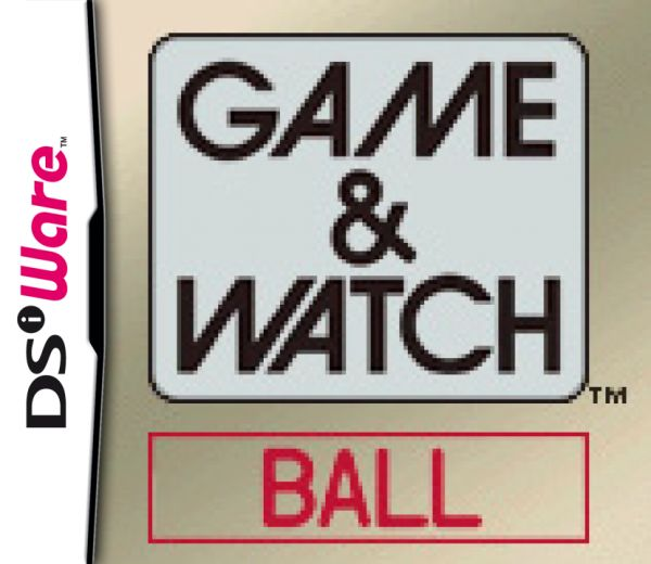 Game & Watch Ball Cover Artwork