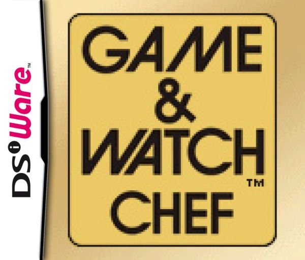 Game & Watch Chef Cover Artwork