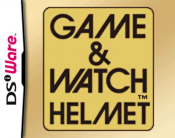 Game & Watch Helmet Cover Artwork
