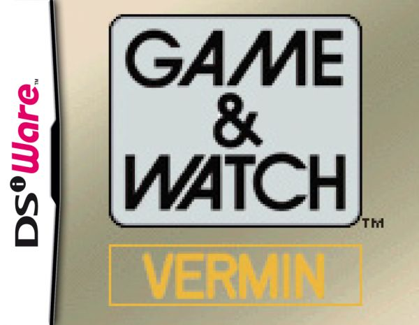 Game & Watch Vermin Cover Artwork