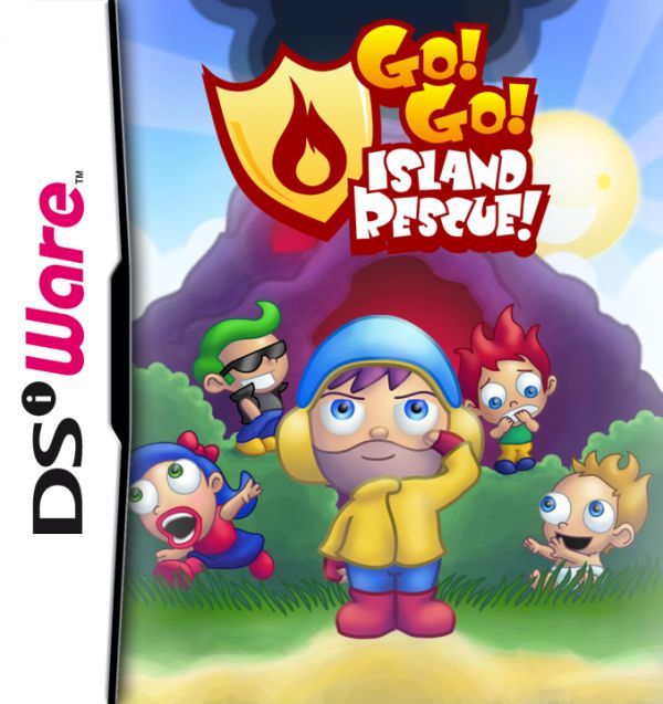 Go! Go! Island Rescue! Cover Artwork
