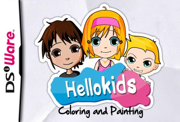 Hellokids - Vol. 1: Coloring and Painting Cover Artwork