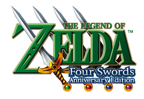 The Legend of Zelda: Four Swords Anniversary Edition Cover Artwork