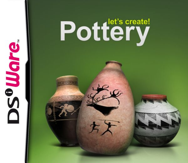 Let's Create! Pottery Cover Artwork