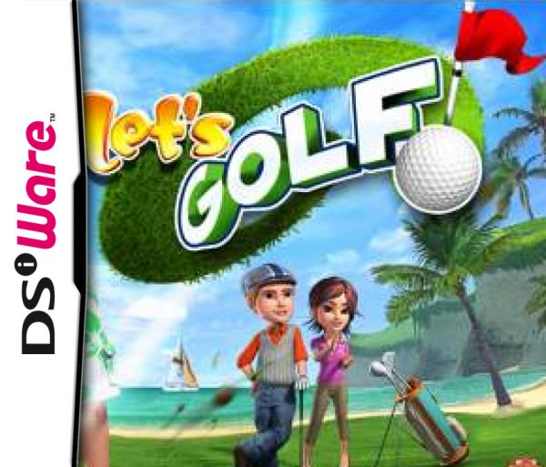 Let's Golf! Cover Artwork