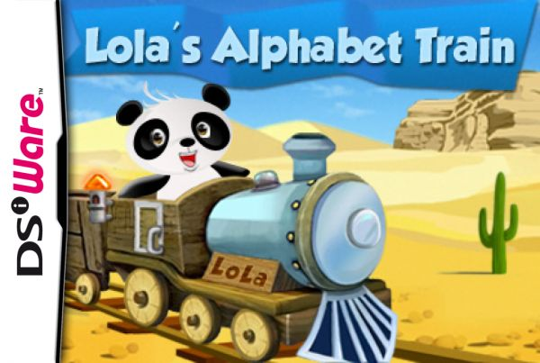 Lola's Alphabet Train Cover Artwork