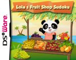 Lola's Fruit Shop Sudoku Cover (Click to enlarge)