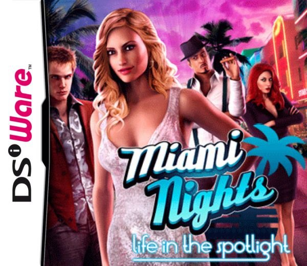 Miami Nights: Life in the Spotlight Cover Artwork