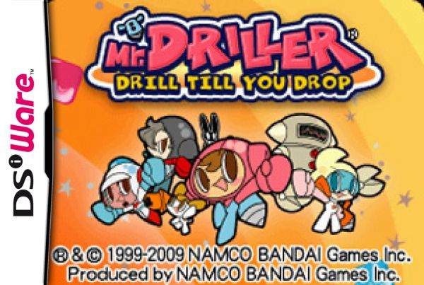 Mr. Driller: Drill Till You Drop Cover Artwork