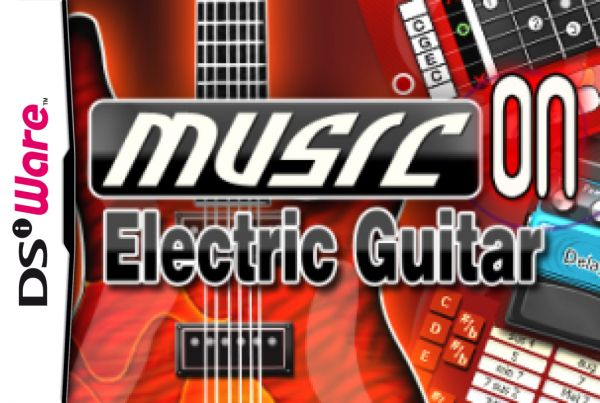 music on electric guitar dsiware game profile news reviews videos screenshots. Black Bedroom Furniture Sets. Home Design Ideas
