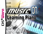 Music On: Learning Piano Cover (Click to enlarge)
