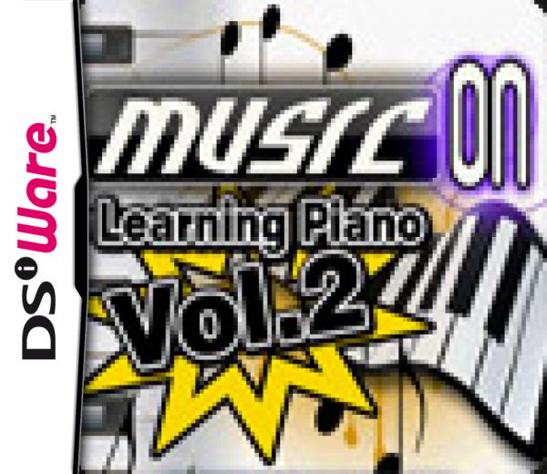 Music On: Learning Piano Volume 2 Cover Artwork