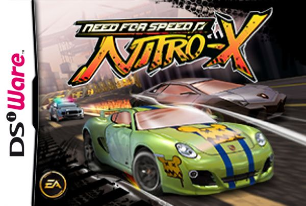 Need for Speed: Nitro-X Cover Artwork