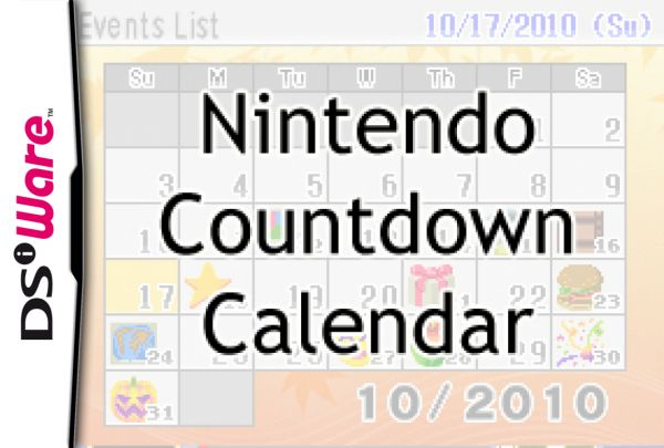 Nintendo Countdown Calendar Cover Artwork
