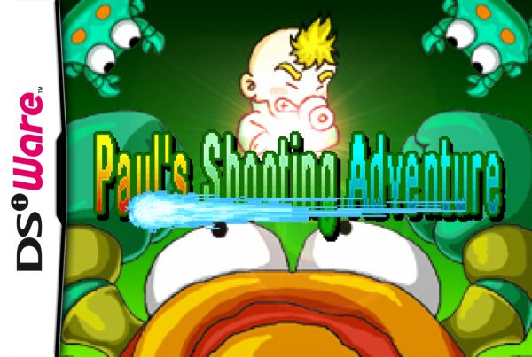 Paul's Shooting Adventure Cover Artwork