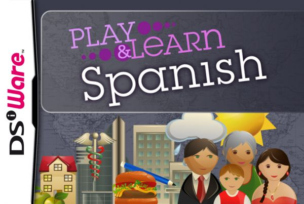 Play & Learn Spanish Cover Artwork
