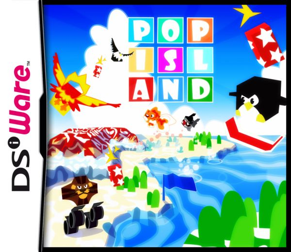Pop Island Cover Artwork