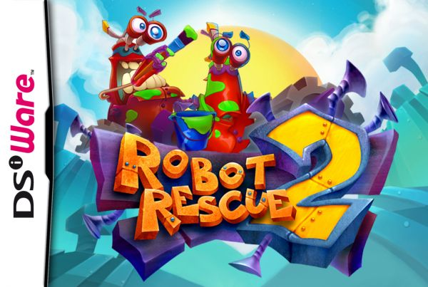 Robot Rescue 2 Cover Artwork