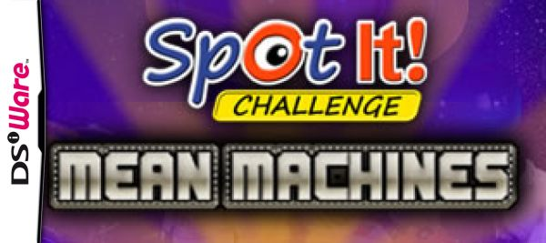 Spot It! Mean Machines Cover Artwork