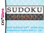Sudoku Sensei Cover (Click to enlarge)