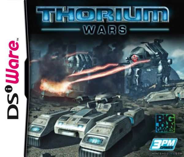 Thorium Wars Cover Artwork