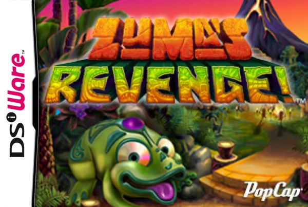 Zuma's Revenge Cover Artwork