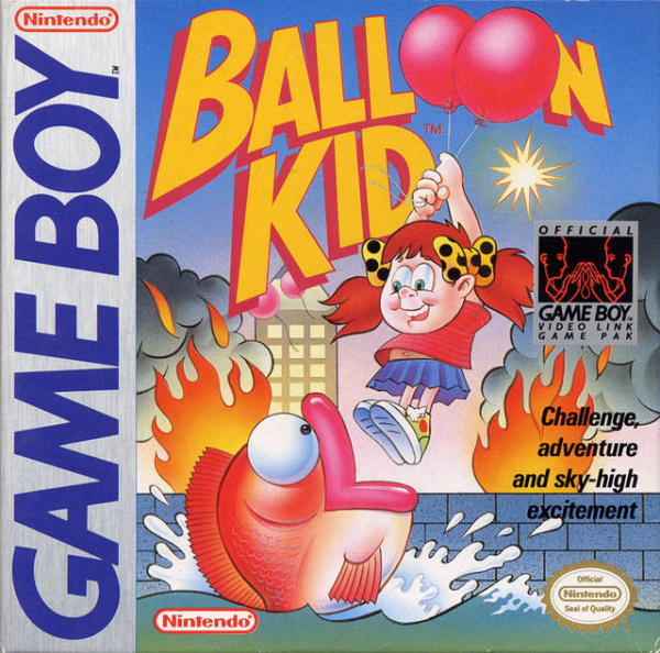 Balloon Kid Cover Artwork