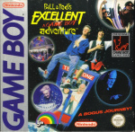 Bill & Ted's Excellent Game Boy Adventure Cover (Click to enlarge)