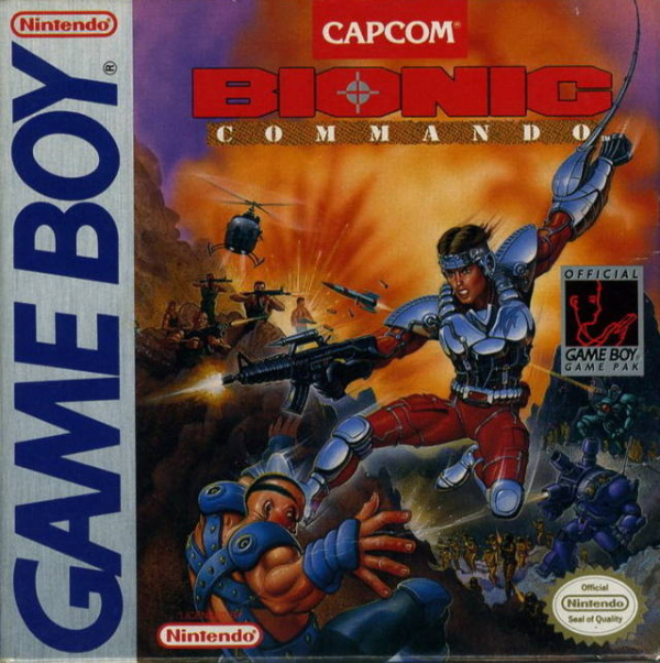 Bionic Commando Cover Artwork