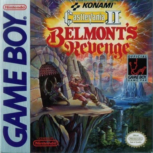 Castlevania II: Belmont's Revenge Cover Artwork