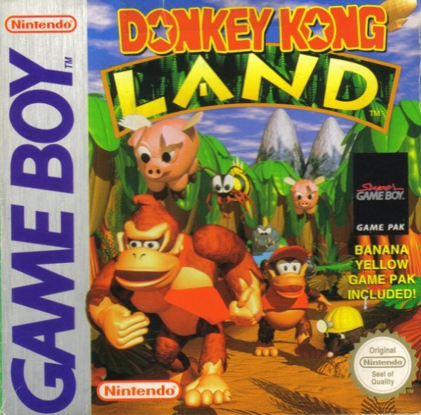 Donkey Kong Land Cover Artwork