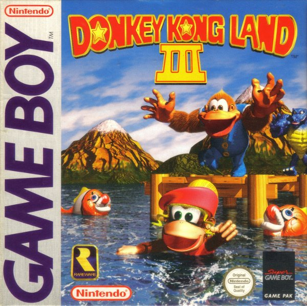 Donkey Kong Land III Cover Artwork