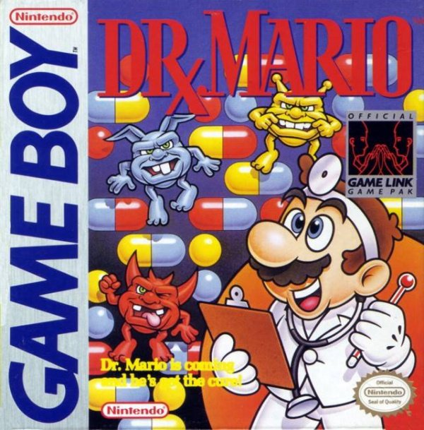 Dr. Mario Cover Artwork