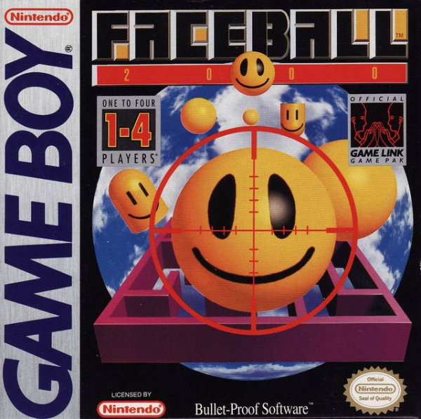 Faceball 2000 Cover Artwork