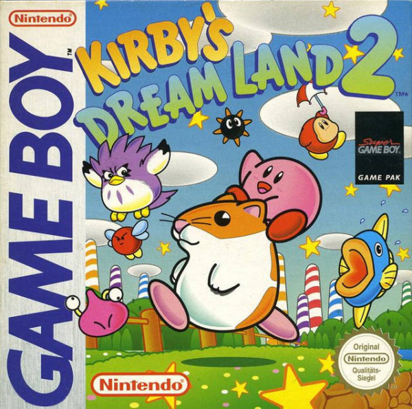 Kirby's Dream Land 2 Cover Artwork