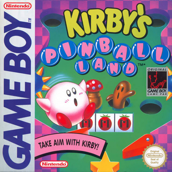 Kirby's Pinball Land Cover Artwork