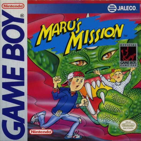 Maru's Mission Cover Artwork