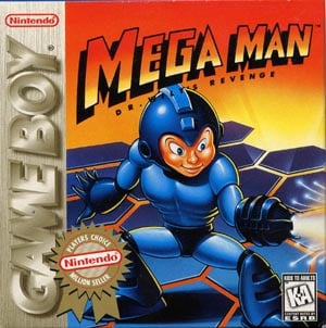 Mega Man: Dr. Wily's Revenge Cover Artwork