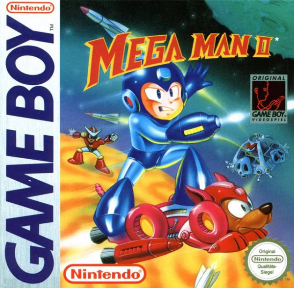 Mega Man II Cover Artwork