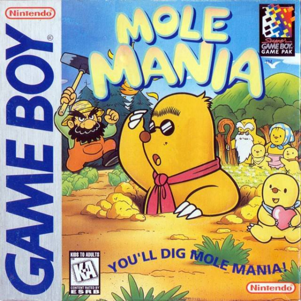 Mole Mania Cover Artwork