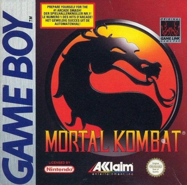 Mortal Kombat Cover Artwork