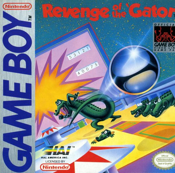 Pinball: Revenge of the 'Gator Cover Artwork