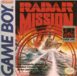Radar Mission Cover Artwork