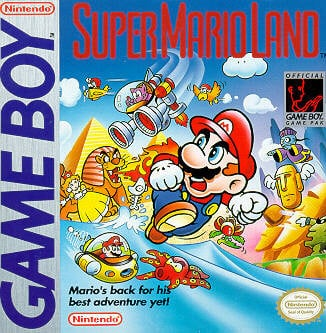 Super Mario Land Cover Artwork