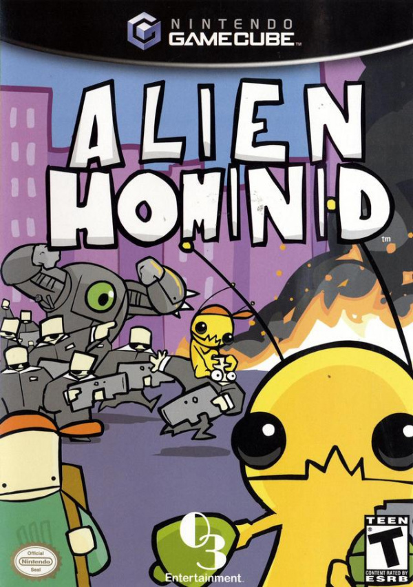Alien Hominid Cover Artwork